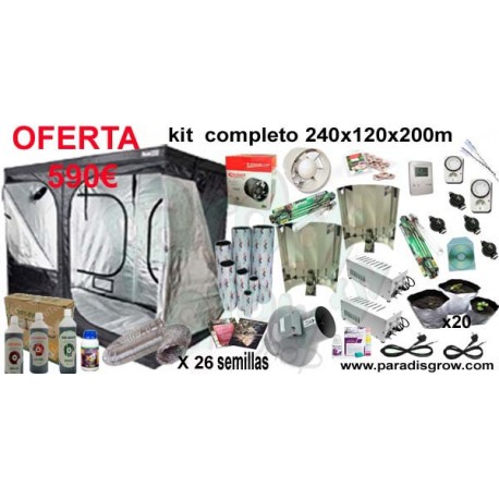 Kit 240x120x200 ECONOMICO