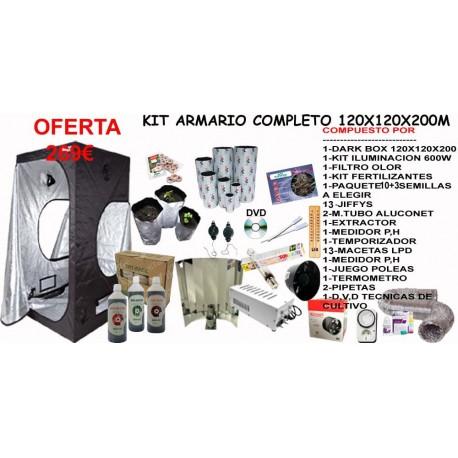 Kit Armario 120X120X200 CON 600W