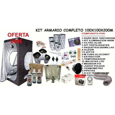 Kit Armario 1X1X2 CON 400W