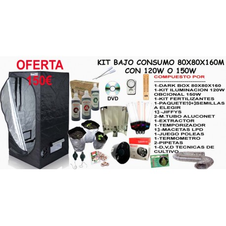Kit Armario Bajo Consumo 120W-150W