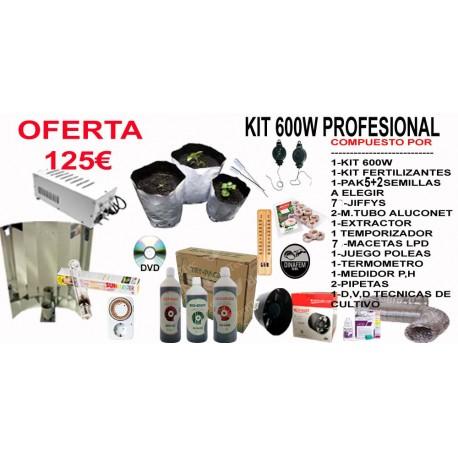 Kit 600w Profesional