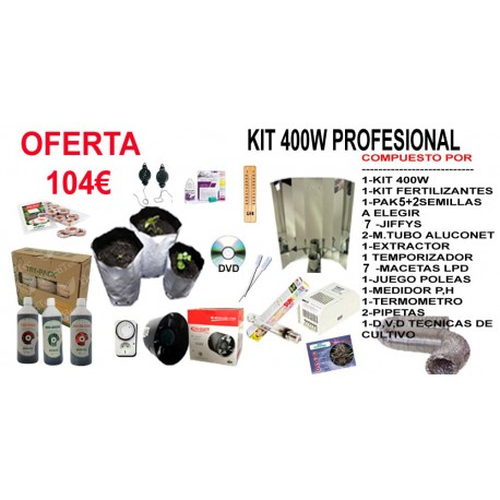 Kit 400w Profesional