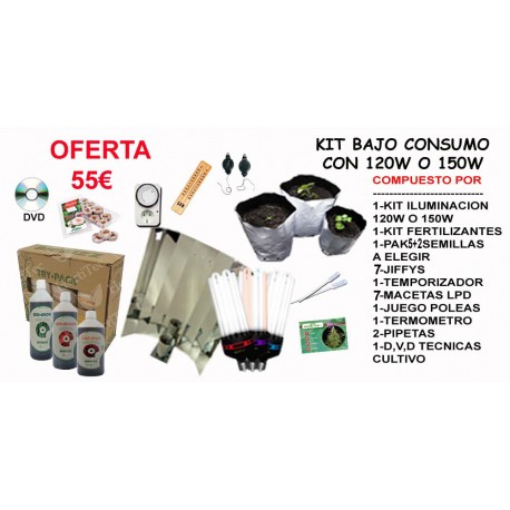 Kit Iluminación Bajo Consumo 120w o 150w