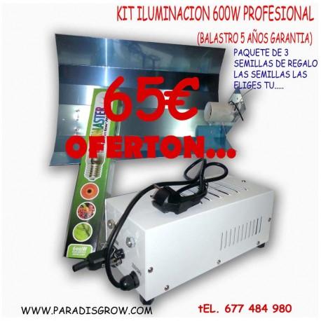 Kit Iluminación 600w