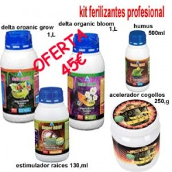 Pack Fertilizantes Delta Nutrients