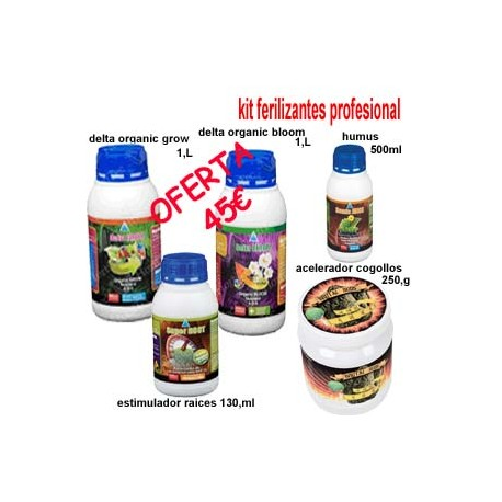 Kit Fertilizantes Profesional