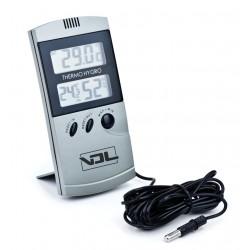 Termohigrometro digital max-min con sonda